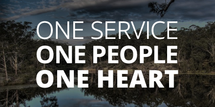One Service. One People. One Heart